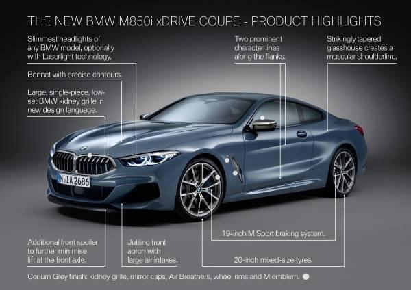Bmw Launches 8 Series Sports Car Lephalale Express Online News