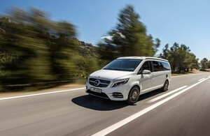 The V-Class V 300 d now available in South Africa