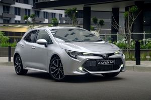 Updated Toyota Corolla Hatch specifications