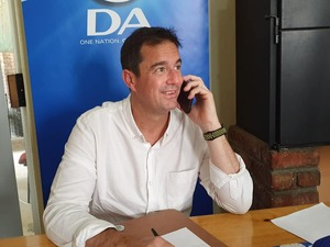 DA says national state of disaster will hinder economic recovery