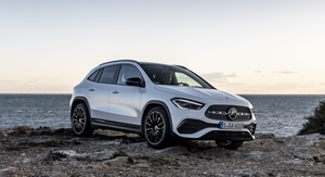 Sporty Mercedes-Benz GLA lifestyle SUV has more space and safety